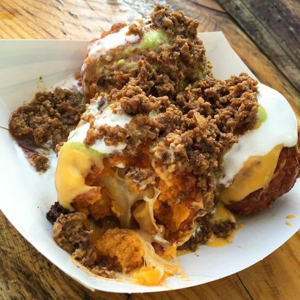 MN State Fair Deep Fried Nachos Supreme