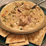 Cheesy Chicken Vegetable Chowder Recipe