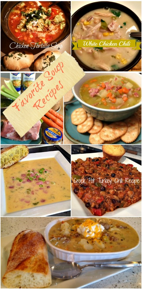 Favorite Soup Recipes