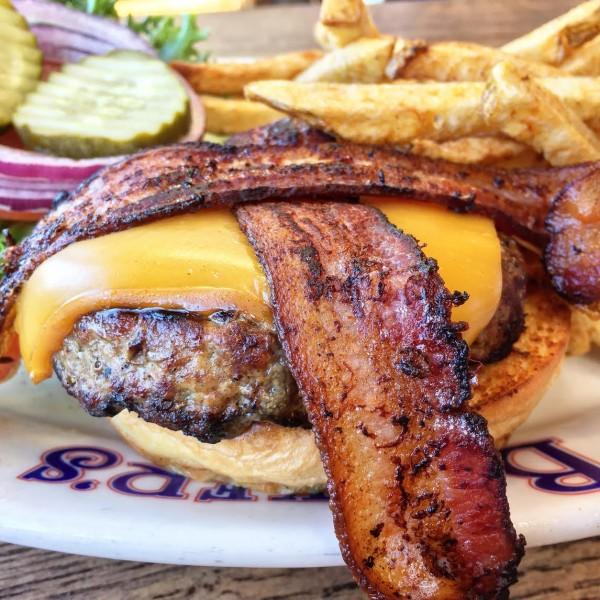 Barkers Bullseye Burger