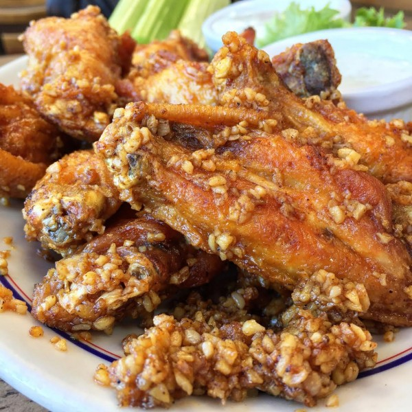 Barkers Garlic Wings
