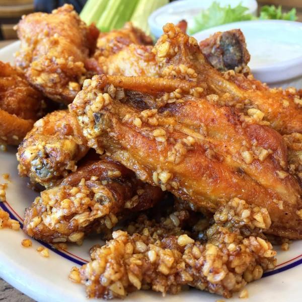 Barkers Garlic Wings
