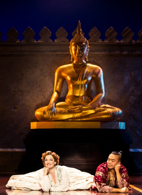 Laura Michelle Kelly and Jose Llana in Rodgers & Hammerstein's The King and I. Photo by Matthew Murphy