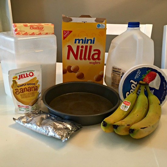 Banana Dessert Ingredients