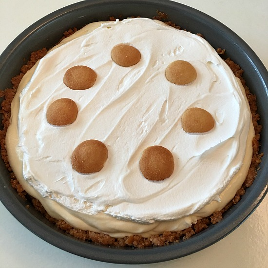 Creamy Banana Pie