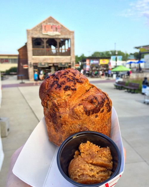 Chocolate Popover with Peanut Butter MN State Fair