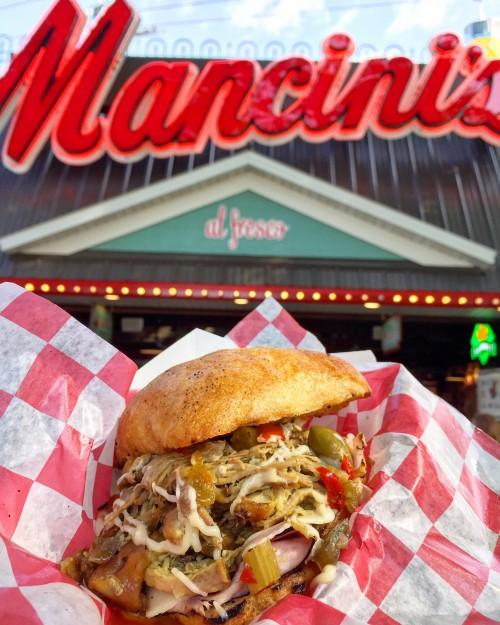 Italian Bomba Sandwich MN State Fair