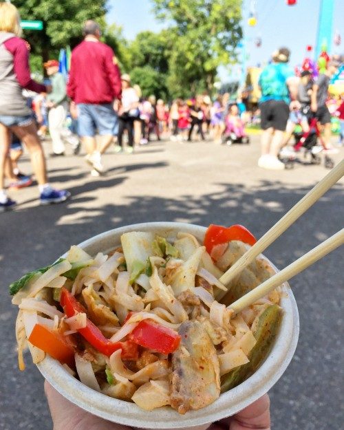Spicy Thai Noodles MN State Fair