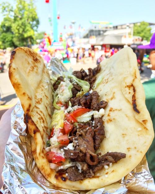 Deviation Stout Steak Taco MN State Fair