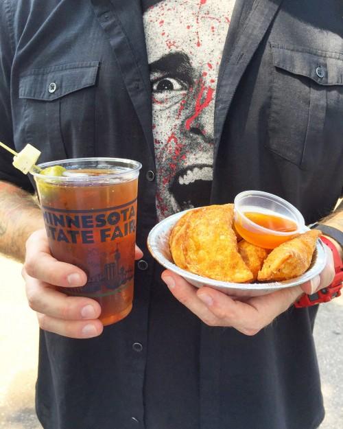 Duck Bacon Wontons MN State Fair