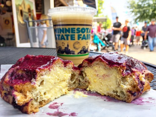 Sweet Corn Blueberry Eclair MN State Fair