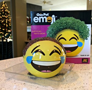Chia Pet Emoji Tears of Joy