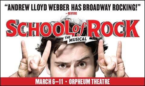 School of Rock Andrew Lloyd Webber