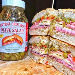 Muffaletta Bread and Sandwich Recipe