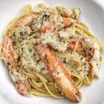 Crab Fettuccine Recipe