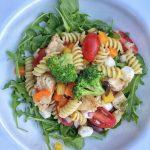 Summer Pasta Salad with Chicken